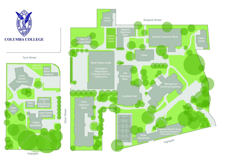 Columba College Floor Plan